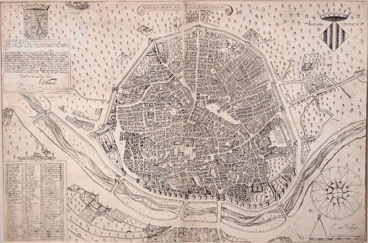 Portulanos: Cartografía histórica ciudad de Valencia