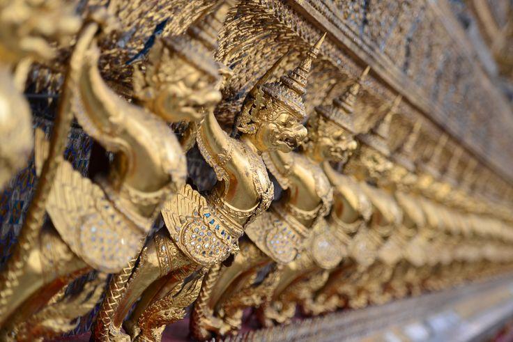 Phra Borom Maha Ratcha Wang, Bangkok, Thaïlande  © Julien Delfosse