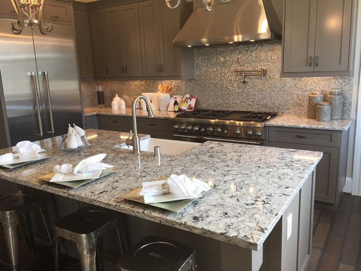 One Quartz Morning Frost Cambria Bellingham Kitchen Kitchen Countertops Kitchen Remodel