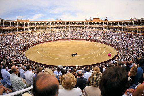 Plaza Monumental de Toros de las Ventas, Madrid, Spain   Flickr - Photo Sharing!
