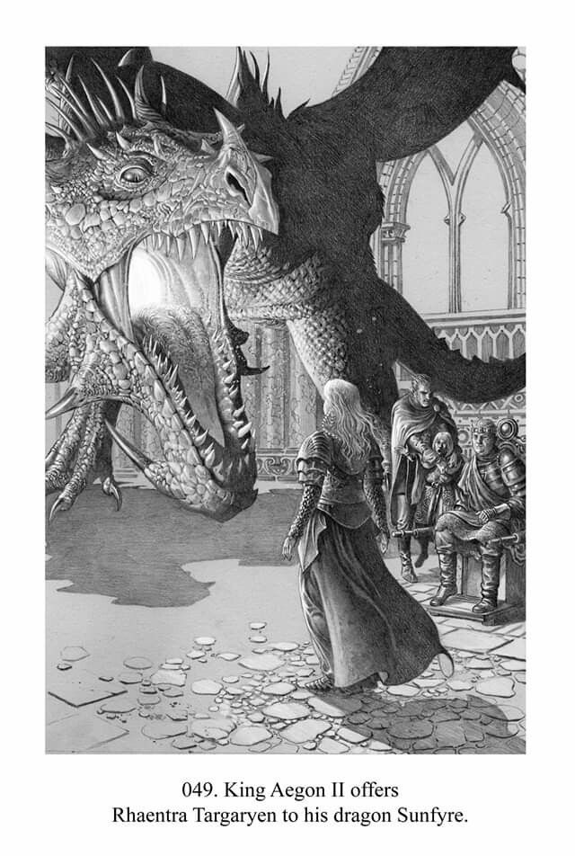 Artwork By Doug Wheatley For The Quot Fire And Blood Quot Book