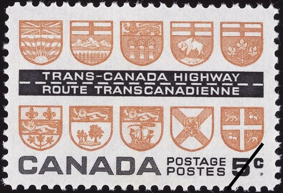 Trans-Canada Highway (1962) by Alan L. Pollock.