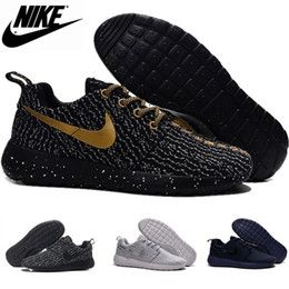 Wholesale Nike Roshe Run Flyknit Boost nike factory outlet Men s Sport Shoes womens Running shoes sneakers