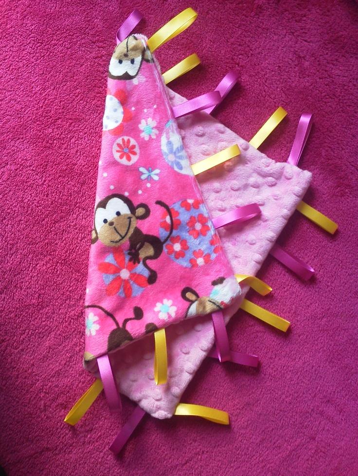 My handmade taggy blanket