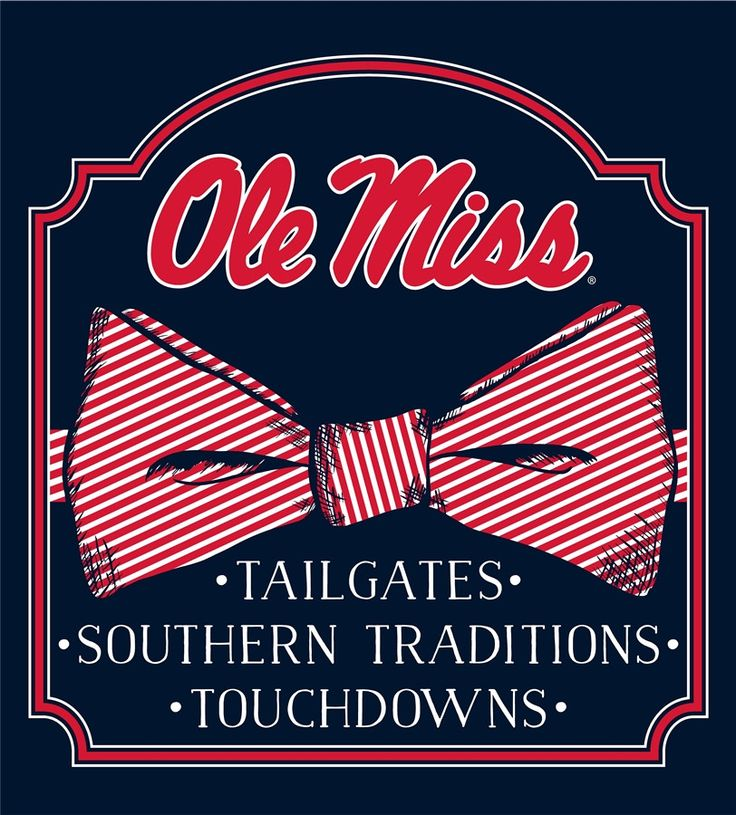 Copy of Southern Couture University of Mississippi Ole Miss Rebels Preppy Bow Girlie Bright T Shirt