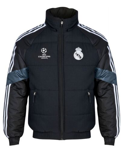 REAL MADRID UCL TRAINING PADDED JACKET Real Madrid Official Merchandise Available at www.itsmatchday.com