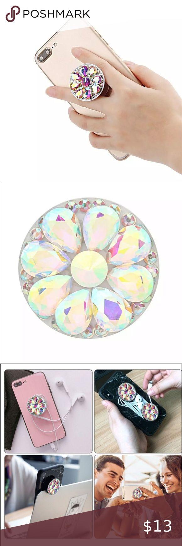 Jeweled Pop Socket NWT in 2020 | Jewel pops. Boutique accessories. Jewels