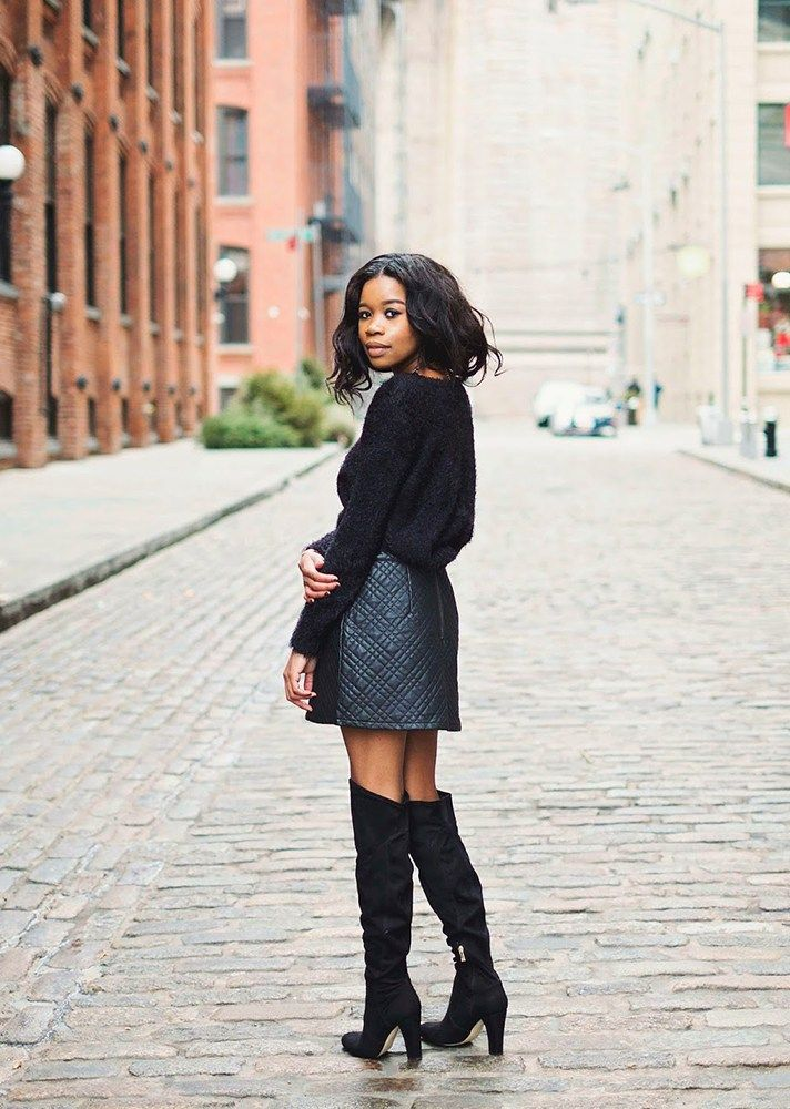 How to Wear Over-the-Knee Boots With Everything This Year   StyleCaster