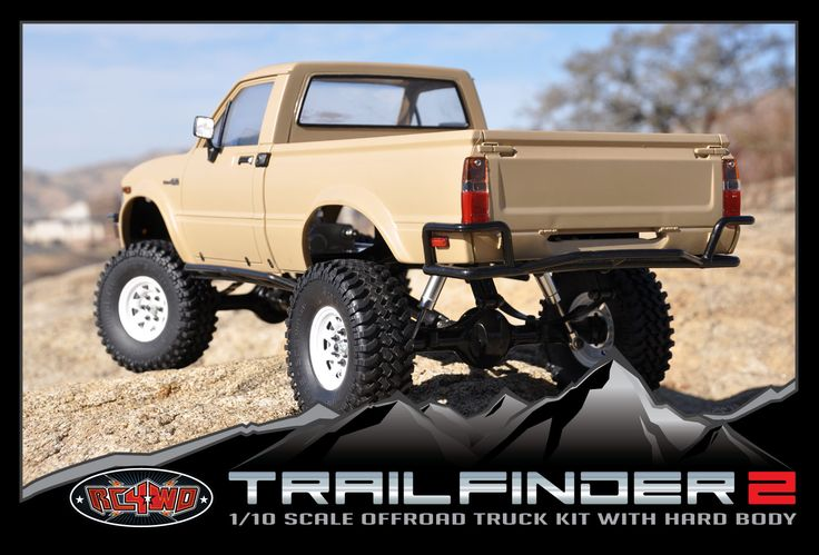 Very Cool looking 1/10 Scale RC Toyota pickup...drool