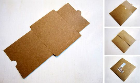 free and simple diy cd or dvd mailer envelope