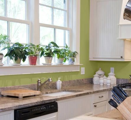 Kitchen Wall Colors: Picture Gallery From Major Paint Manufacturers