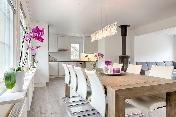 Köket i ett Älvsbyhus modell Torgrim.