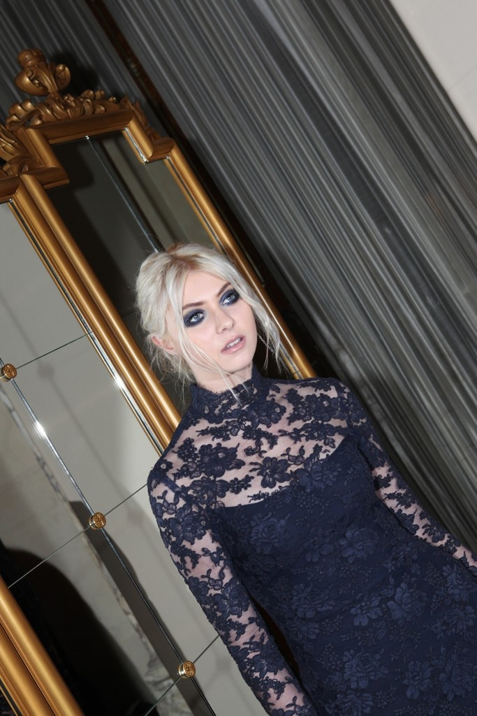 Taylor Momsen Front Row at Marchesa