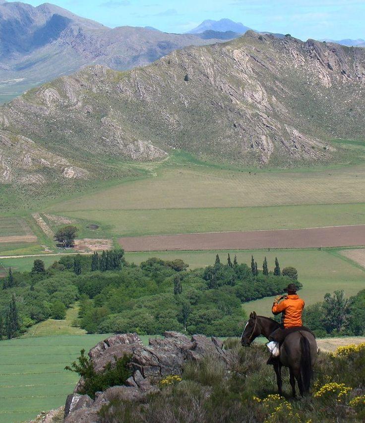 Aventura a caballo, Tornquist, Buenos Aires