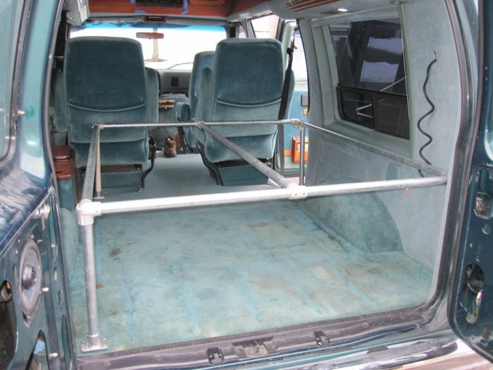 94 Ford E150 Conversion Van Road Trip Get Away Vehicle