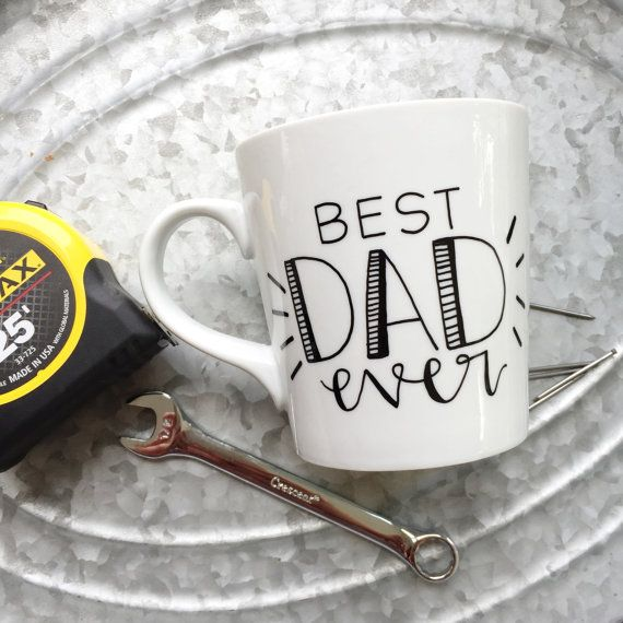 Hey, I found this really awesome Etsy listing at https://www.etsy.com/listing/233321753/best-dad-ever-coffee-mug-hand-painted