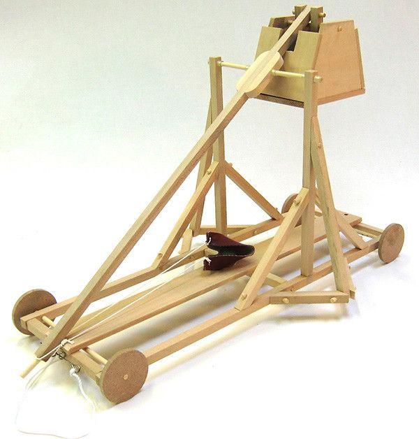 PATHFINDERS Da Vinci Trebuchet Model Kitt#toys2learn#science#kit#trebuchet#davinci#construction#wooden#thames&cosmos#learning#teaching#home#school#kids#children#australia#