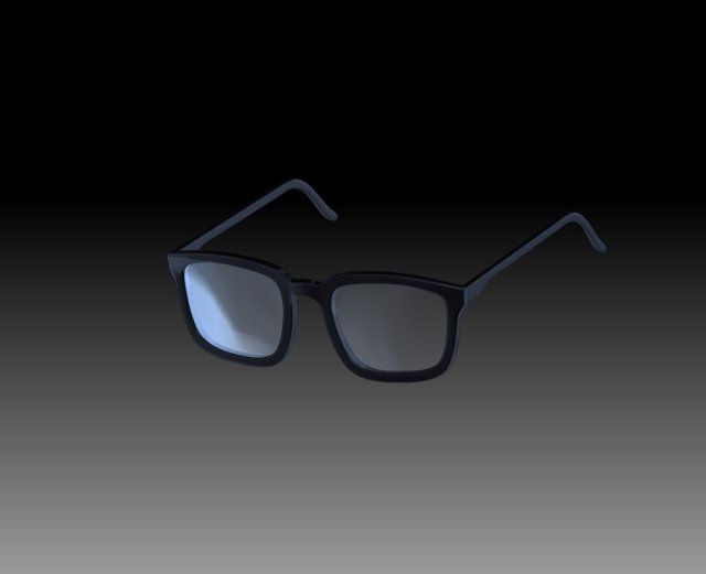 Free 3D Glasses by Virtwo @ 3DExport