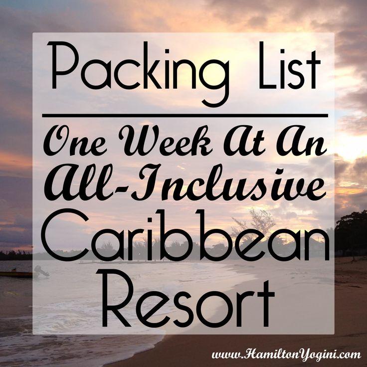 #travel #travelblog #packinglist #caribbean #tropical #vacation #resort #allinclusive