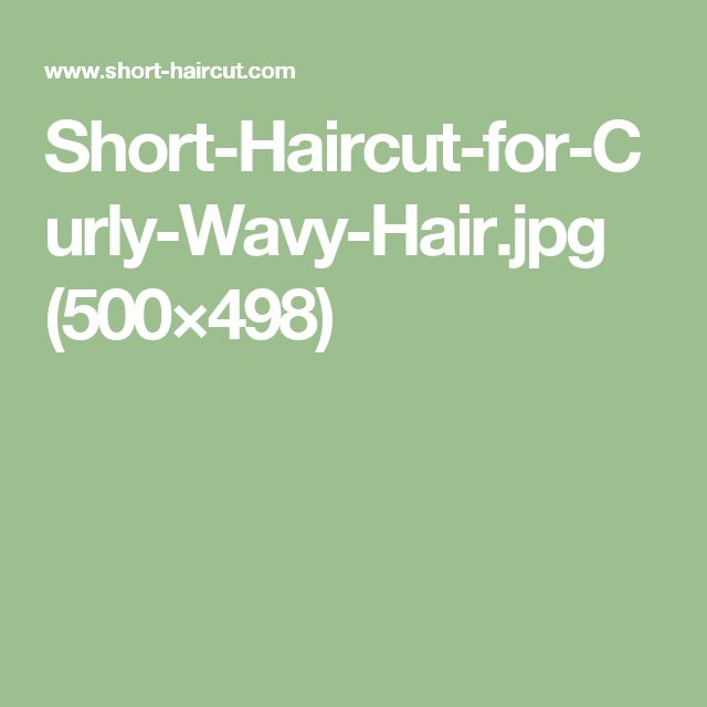 Short-Haircut-for-Curly-Wavy-Hair.jpg (500×498)