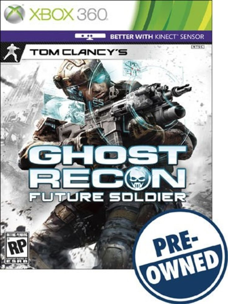 Tom Clancy's Ghost Recon: Future Soldier — PRE-Owned - Xbox 360