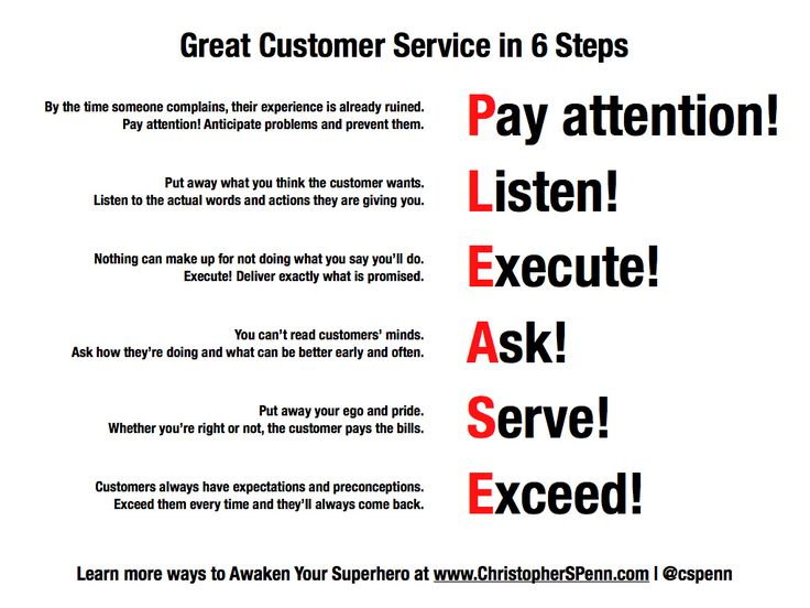 give an example of good customer service in retail tikir