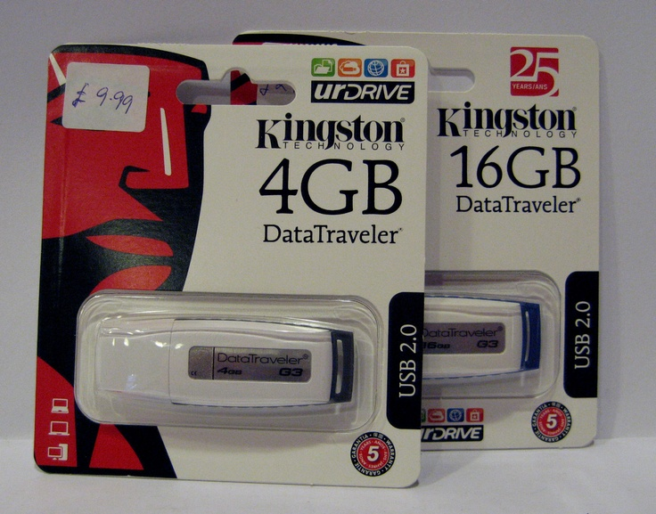 Kingston Technology DataTraveler 16GB Flash Drive £24.99