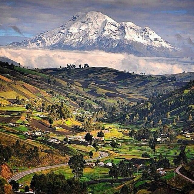 Near Riobamba (day trip) Volcan Chimborazo...very experienced hike, get a guide