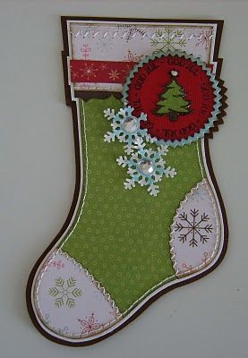 christmas stocking card