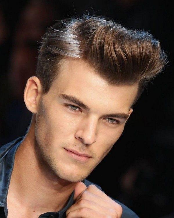 Elegante Herrenfrisuren: Haartolle