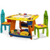 Found it at Wayfair - Crayola Wooden Kids' 3 Piece Table and Chair Set