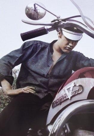 Motorcycle King Elvis Presley
