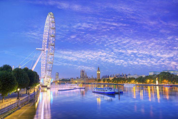 La London Eye es la segunda noria mirador más grande del mundo