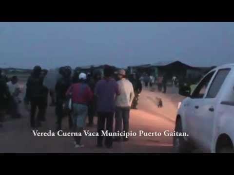 El Esmad desalojó y derrumbo 50 casas OPERACIÓN PACIFIC - YouTube