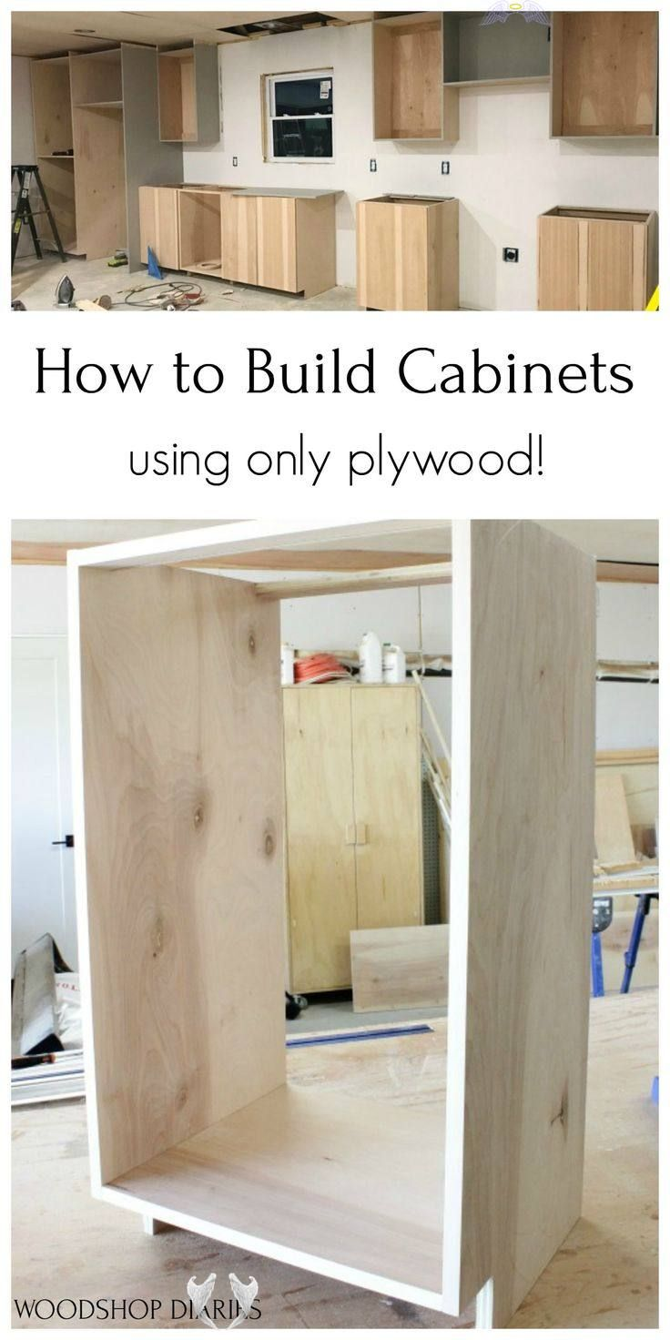 How to Build Cabinets--Using Only Plywood! Build your own ...