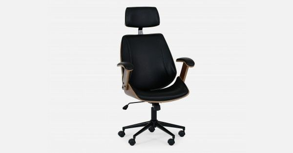 Cove Black Office Chair If A Chair Could Be Named Ceo Cove Just
