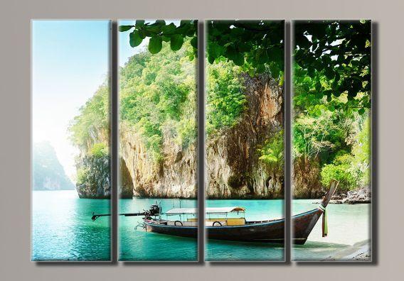 Картина модульная (72х102 см.) - Таиланд 2, Арт. HAF-039