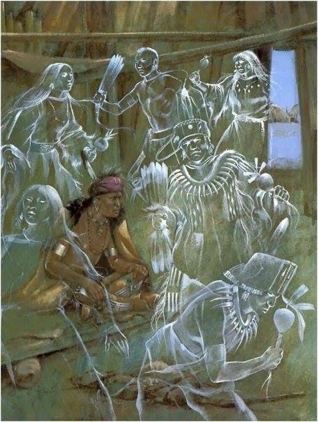 """.DA SÉRIE XAMANISMO  - """"Antropólogos têm estudado xamanismo nas Américas: do Norte, Central, Sul. Também na África, entre os povos  aborígenes da Austrália, Esquimós, Indonésia, Malásia, Senegal, Patagônia, Sibéria, Bali, Velha Inglaterra e ao redor da Europa, no Tibet (...), ou seja, em todos os lugares ao redor do mundo. Seus traços estão presentes nas Grandes Religiões."""" (Léo Artese) - Da pasta: Tradições, Mitologias, Ícones, Holismo."""