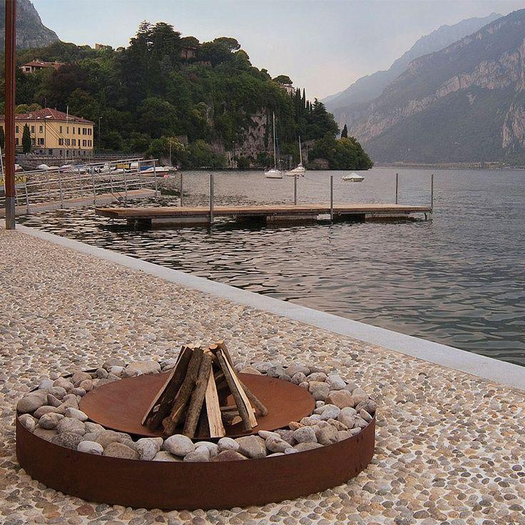 Zen Fireplace Rust