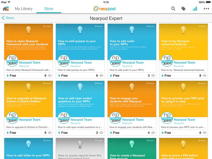 Learn how to use Nearpod with our teacher resources!
