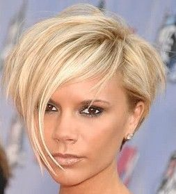 V Beckham hair. Still love this cut.