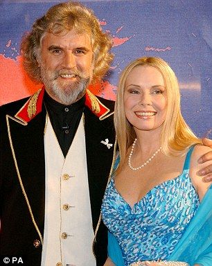 Scottish comedian Billy Connolly and his wife Pamela Stephenson in 2013