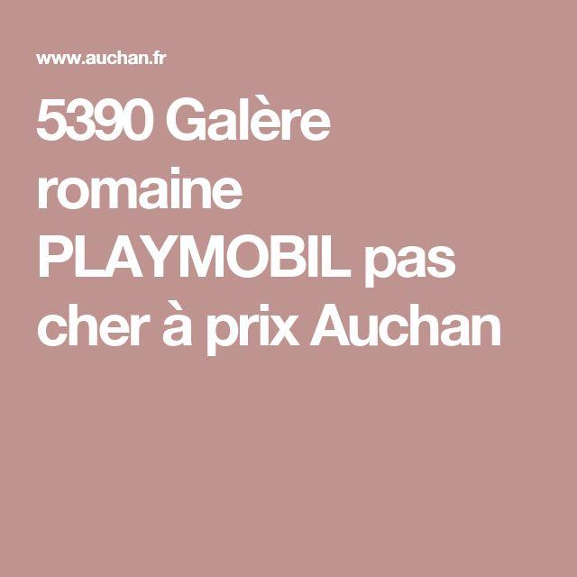 5390 Galère romaine PLAYMOBIL pas cher à prix Auchan
