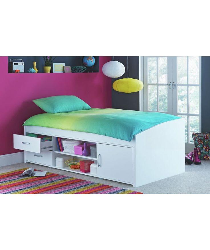 Buy Yanniek Cabin Bed Frame - White at Argos.co.uk - Your Online Shop for Children's beds, Children's beds.