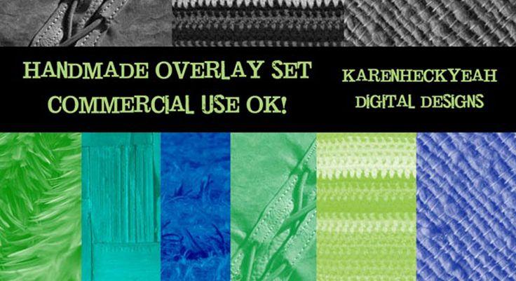 Handmade Commercial Use Overlay Set