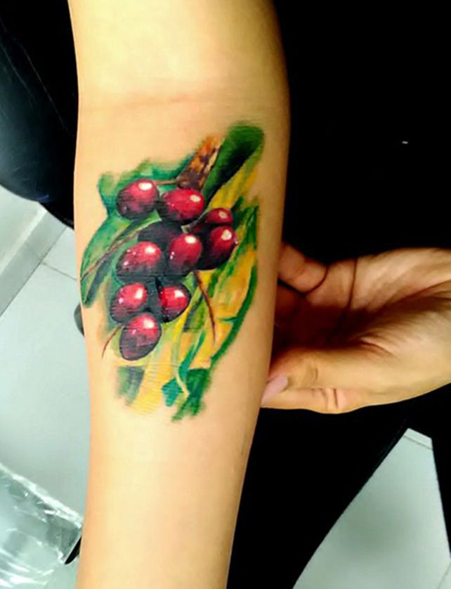 tattoo corozo costeño by santiago suarez art