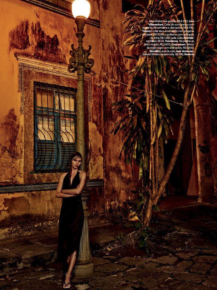 Amanda Wellsh e Aline Weber por Giampaolo Sgura para Vogue Brasil Novembro 2014 [Editorial]