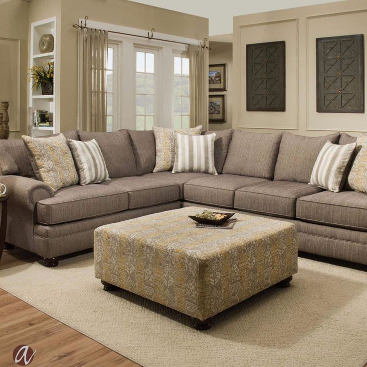 No Credit Check Furniture Dallas #32: 1000+ Ideas About Beige Sectional On Pinterest | Sofa, Living Room Sectional And Beige Couch