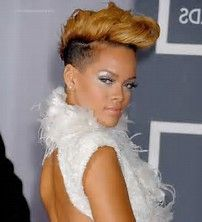 Image result for Rihanna Hair 2013