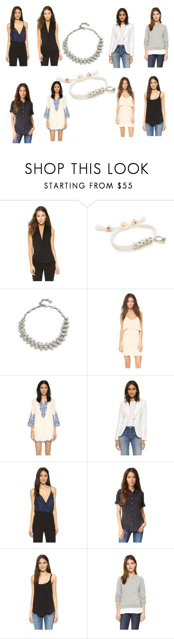 """""""fashion trends collection"""" by monica022 ❤ liked on Polyvore featuring Lanston, Venessa Arizaga, Ben-Amun, Rory Beca, Love Sam, Smythe, Alice + Olivia, Equipment, Splendid and Clu"""